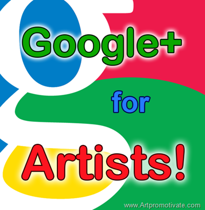 google plus for artist