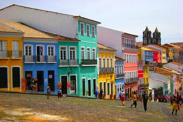 Pelourinho in Salvador, Brazil