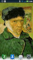 Screenshot of Van Gogh Self-Portraits