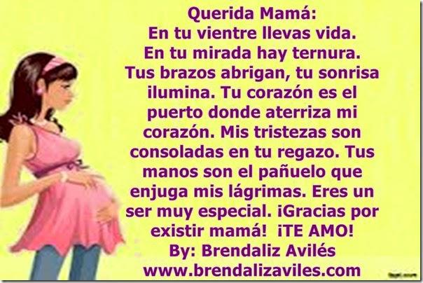 mama embarazada Poesía dedicada a la Madre