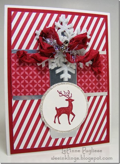 LeAnne Pugliese WeeInklings Merry Monday Christmas Stampin