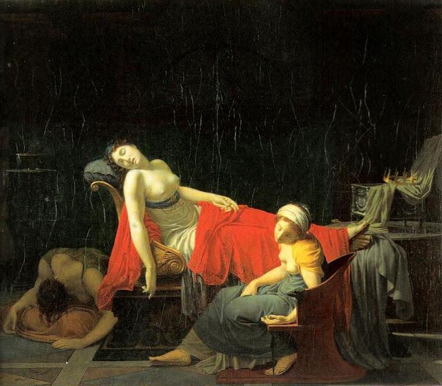 Regnault, Jean-Baptiste - Muerte de Cleopatra.jpg