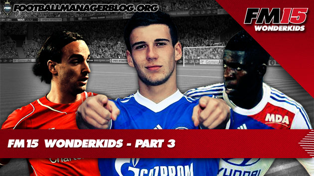 Football Manager 2015 Wonderkids Part 3