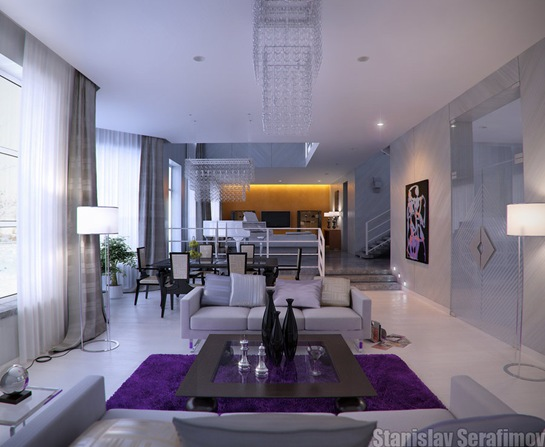 purple-and-white-living-room