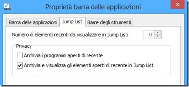 Eliminare la cronologia Esegui su Windows 8