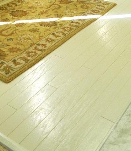 Painting Old Hardwood Flooring