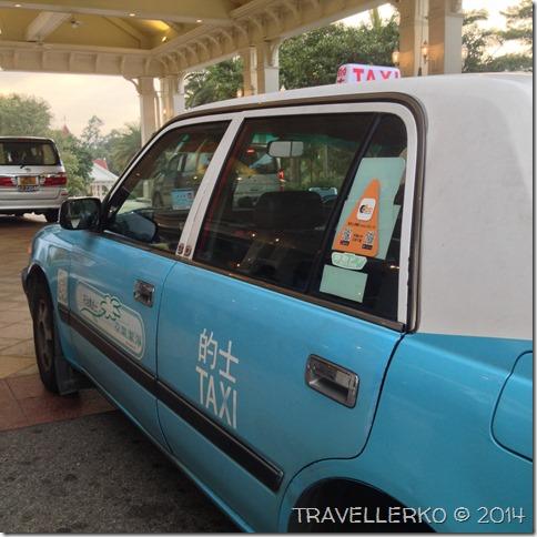 從香港機場到迪士尼要搭藍色大嶼山還是綠色新界的士?02