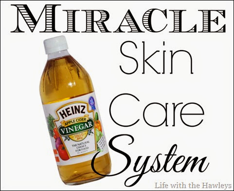 Apple Cider Vinegar- Miracle Skin Care System