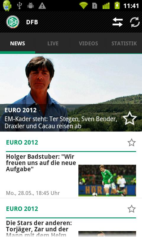 DFB - screenshot
