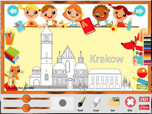 波蘭著色遊戲