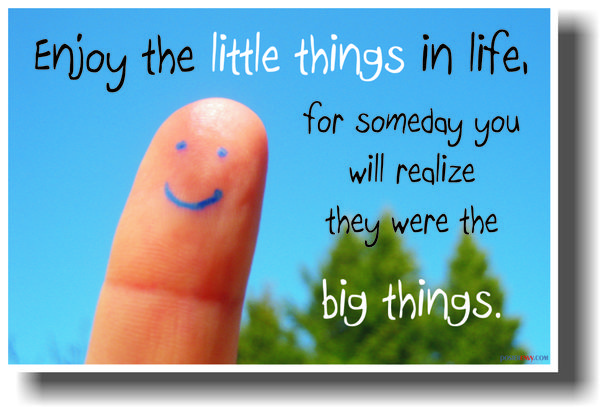 Enjoy The Little Things Quotes Quotes Links