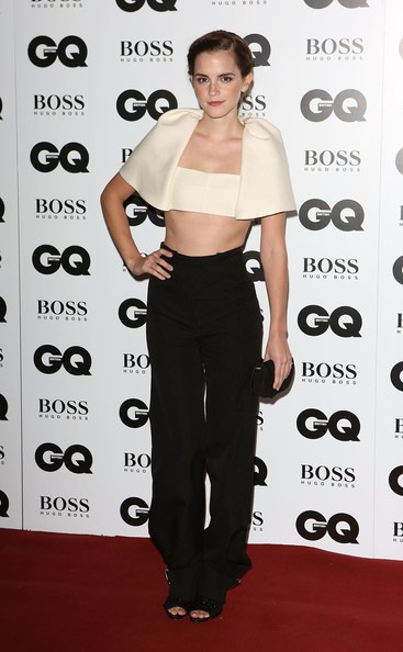 Emma Watson GQ Men Year Awards Red Carpet Arrivals
