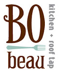 Logo for BO-beau kitchen + roof tap