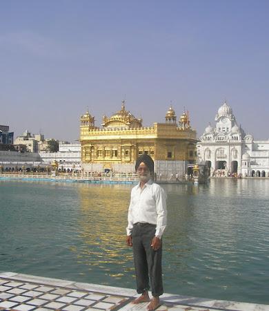 1. Amritsar, templul de aur.JPG