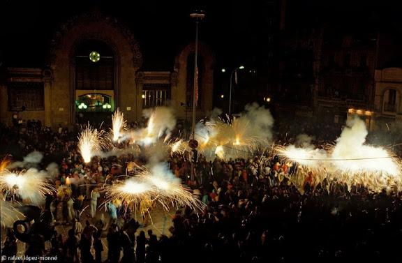 Ball de Diables de Tarragona. Correfoc. Festes de Santa Tecla. Tarragona, Tarragonès, Tarragona 1992