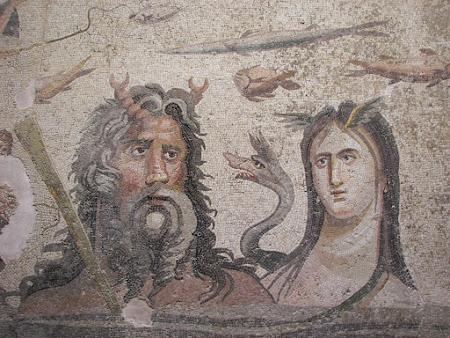 Imagini Anatolia: mozaic Oceanos si Thetys