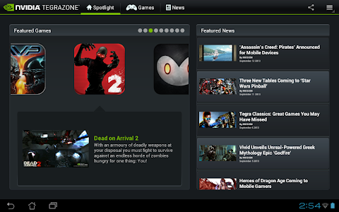 NVIDIA TegraZone 2 screenshot 4