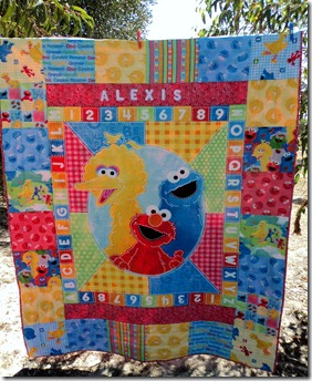Alexis's 2nd Birthday quilt