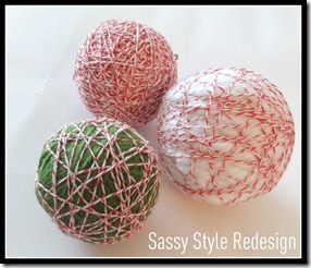 twine wrapped ball