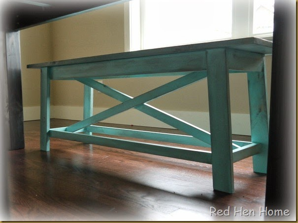 Kim's Farmhouse Table 004
