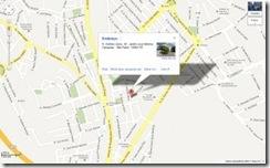 Mapa de localização do Canal Oito - local onde será realizado o curso