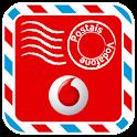 Vodafone Postais logo