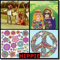 HIPPIE- 4 Pics 1 Word Answers 3 Letters
