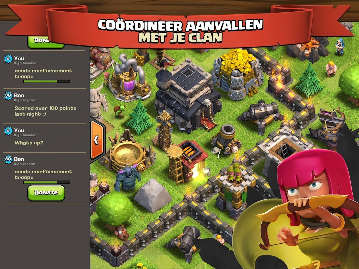 Clash of clans play store télécharger