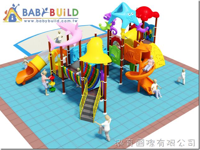 BabyBuild 戶外沙坑遊具設計規劃