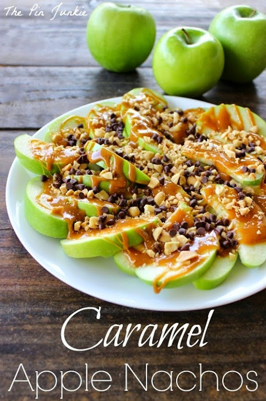 Caramel apple nachos 3