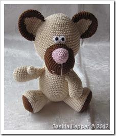 kleines fadenallerlei: ted teddybär