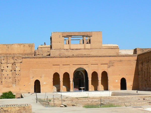 Imagini: Marrakech palatul Badi
