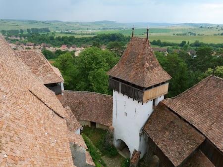 Fortificatii sasesti in Transilvania: biserica intarita Viscri