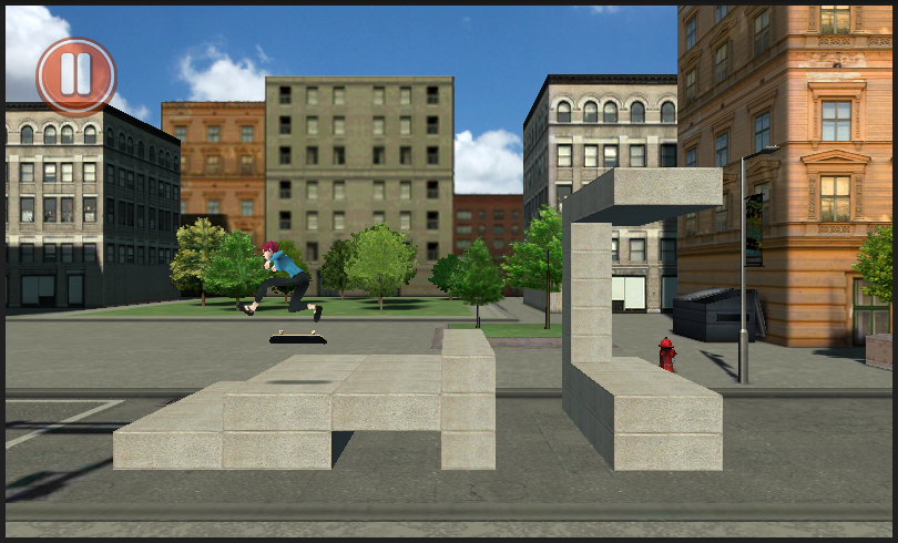 Skate N Crash - screenshot