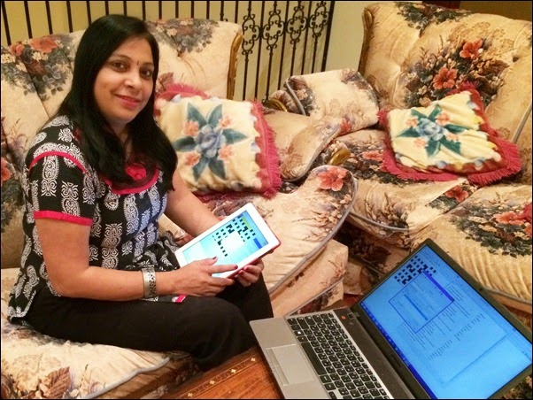 Sowmya Ramkumar. setting a crossword