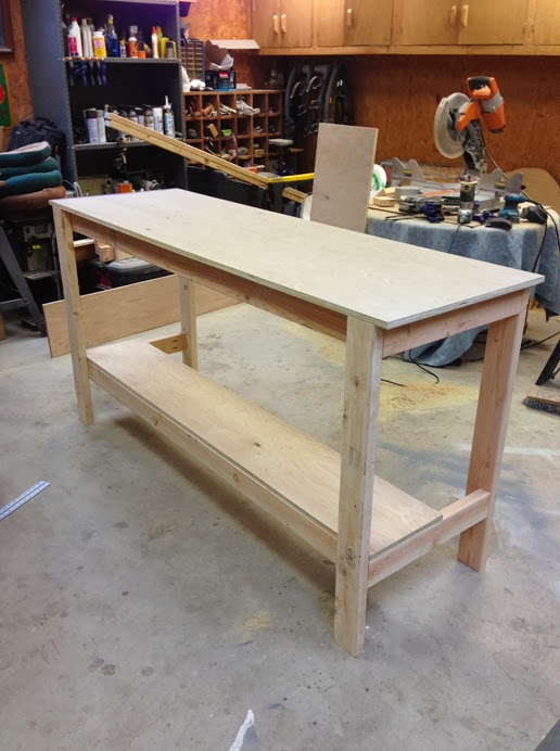 diy work bench #tutorial