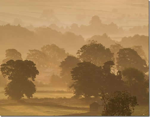 SWALEDALE MORNING MIST by Linda Thackeray 3rd Div 3