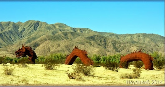 On The Road Of Retirement Day Trip To Borrego Springs