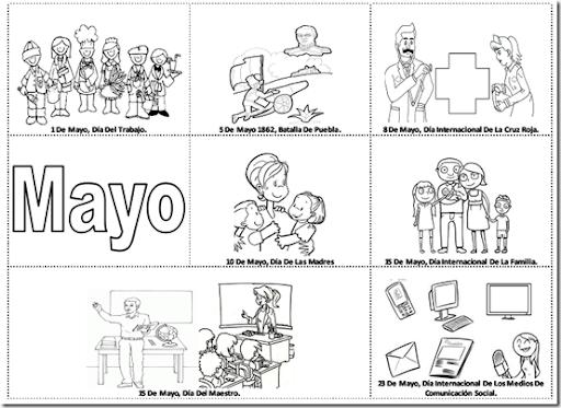 Efemerides De Mayo Para Niños Imagui