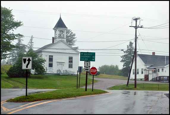 1 - rainy day ride - Route 1 to Eastport