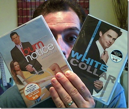 white collar burn notice dvd
