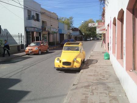 Citroen vechi in Argentina
