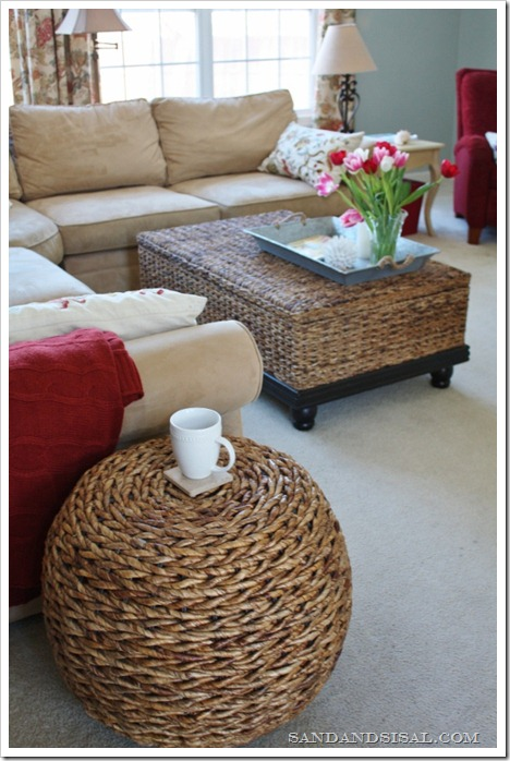 Coffee Tables - hand woven abaca