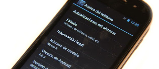 Samsung Nexus S a Android 4.0