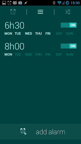 android Glimmer (luminous alarm clock) Screenshot 11