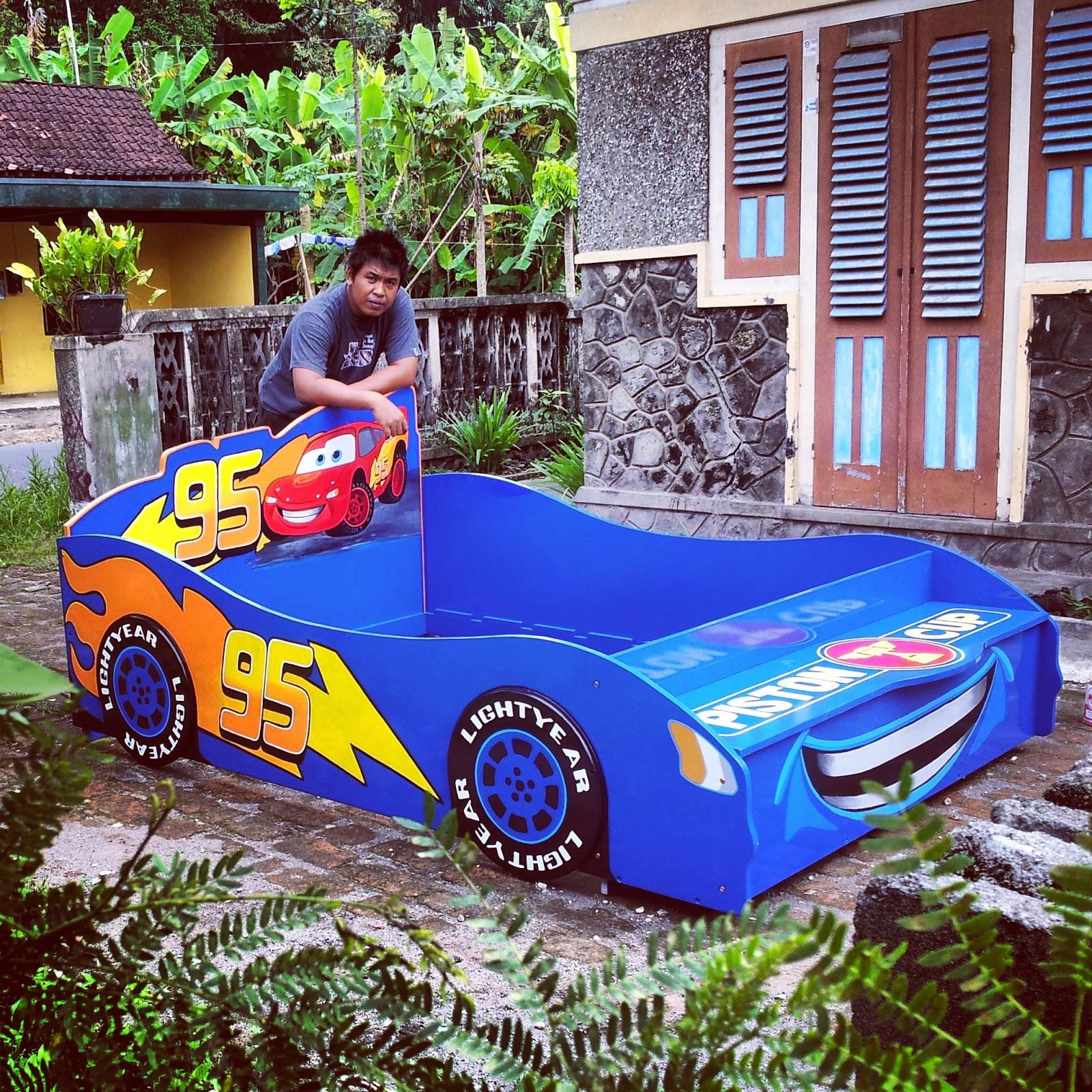 Gambar Kasur Anak Bentuk Mobil Modifikasi Mobil