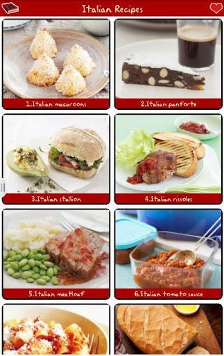 意大利食谱免费!