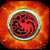 Clock Targaryen GameOfThrones