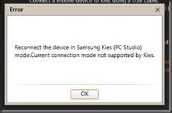 kies pc studio mode mac