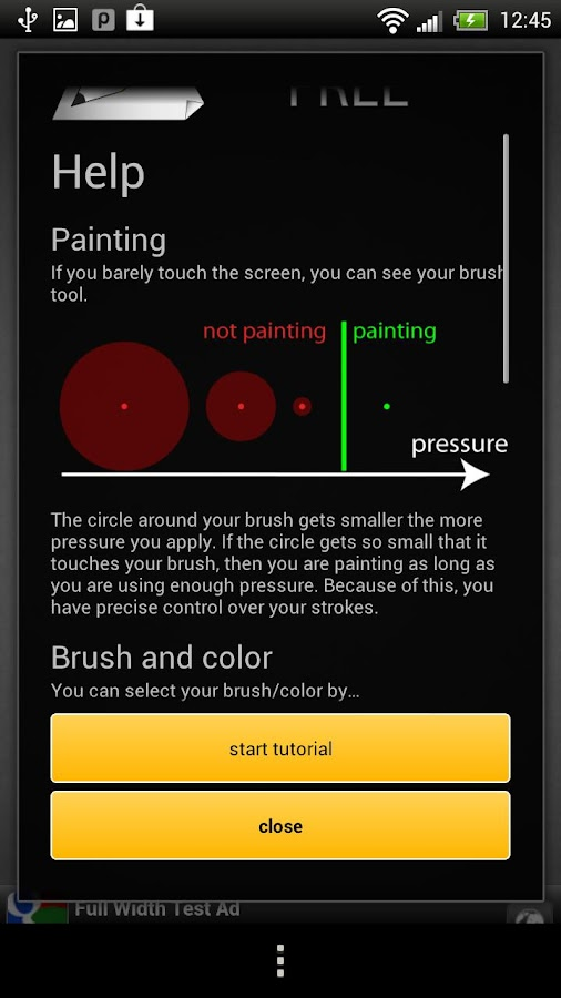 Pen&Paper Free - draw, paint - screenshot